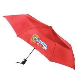 Totes Auto Open Folding Umbrella