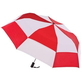 Totes Stormbeater Auto Open Folding Umbrella for Customization