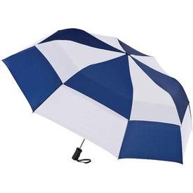 Printed Totes Stormbeater Auto Open Folding Umbrella