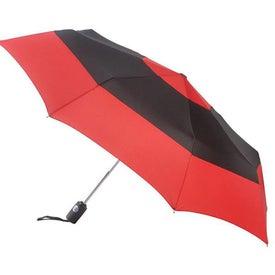 Totes Auto Open Close Color Block Umbrella for Promotion