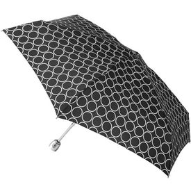 Company Totes Mini Auto Open Close Umbrella with Purse Case