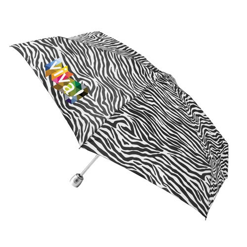 Totes Mini Auto Open Close Umbrella with Purse Case