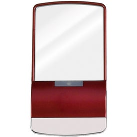"""Branded Touch """"Light-Up"""" Mirror"""