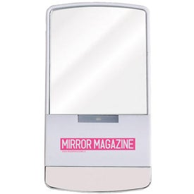 """Printed Touch """"Light-Up"""" Mirror"""