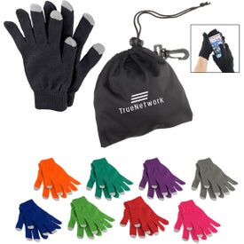 Touch Screen Gloves In Pouch (Unisex)