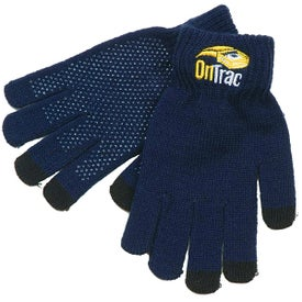 Touchscreen Gloves (Unisex, Embroidered)