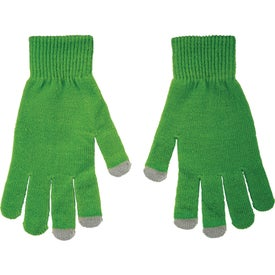 Monogrammed Touchscreen Gloves