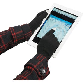 Touchscreen Gloves Branded with Your Logo