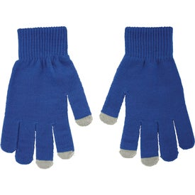 Logo Touchscreen Gloves