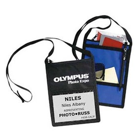 Personalized Tradeshow Badge Holder for your School