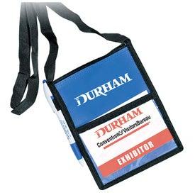Custom Personalized Tradeshow Badge Holder