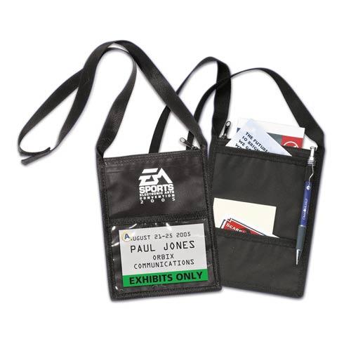 Vinyl Tradeshow Badge Holder