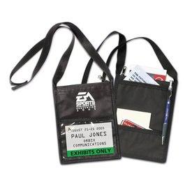Personalized Tradeshow Badge Holder