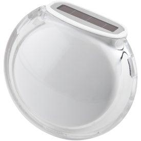 Imprinted Translucent Bubble Solar Pedometer