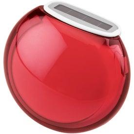 Translucent Bubble Solar Pedometer for Your Organization