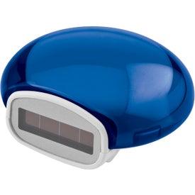 Customized Translucent Bubble Solar Pedometer