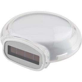 Personalized Translucent Bubble Solar Pedometer