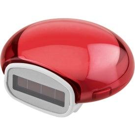 Advertising Translucent Bubble Solar Pedometer