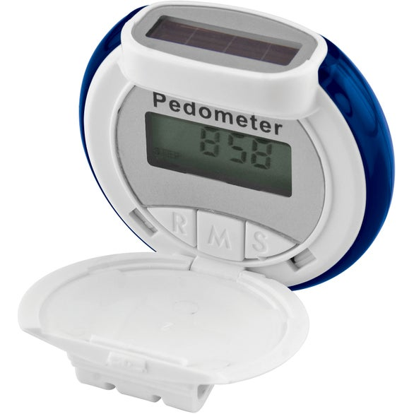 Translucent Bubble Solar Pedometer