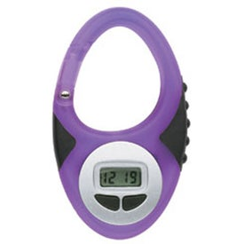 Promotional Translucent Digital Clip Watch
