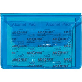 Monogrammed Translucent First Aid Pouch