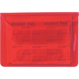Branded Translucent First Aid Pouch
