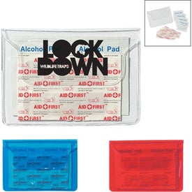 Logo Translucent First Aid Pouch