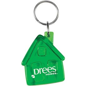 Translucent House Keytag for Your Organization