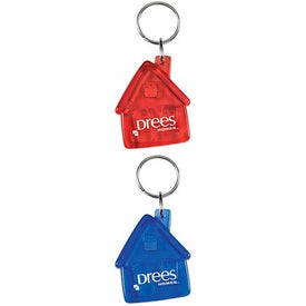 Advertising Translucent House Keytag