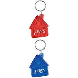 Advertising Translucent House Keytag