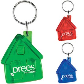 Translucent House Keytag
