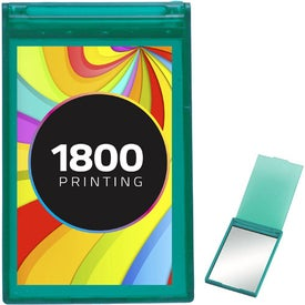Promotional Translucent Rectangle Compact Mirror
