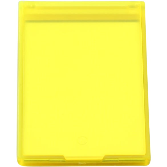 Translucent Rectangle Compact Mirror