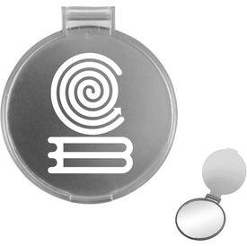 Company Translucent Round Compact Mirror