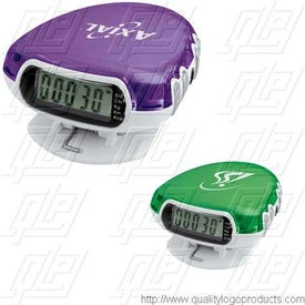 Translucent Step-n-Tune Pedometer Radio