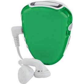 Translucent Step-n-Tune Pedometer Radio for Advertising