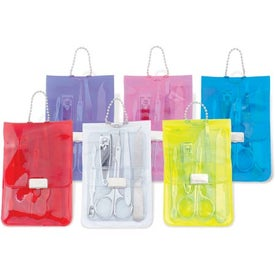 Translucent 5-Piece Manicure Pouch Giveaways