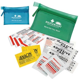 Translucent Personal First Aid Kit for Promotion