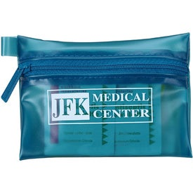 Translucent Personal First Aid Kit with Your Slogan