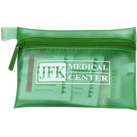 Logo Translucent Personal First Aid Kit