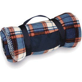 Travel Blankets Imprinted with Your Logo