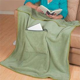 Company Travel Buddy Blanket