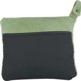 Branded Travel Buddy Blanket