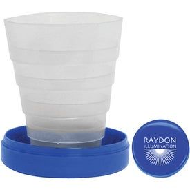 Branded Travel Cup with Pill Holder