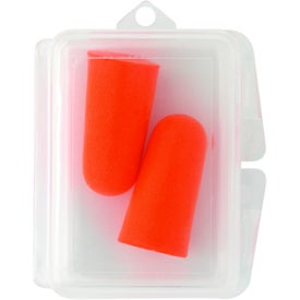 Personalized Travel Ear Plugs In Case