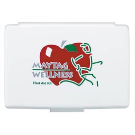Imprinted Compact Travel First Aid Kit