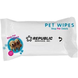 Custom Travel Pet Wipes