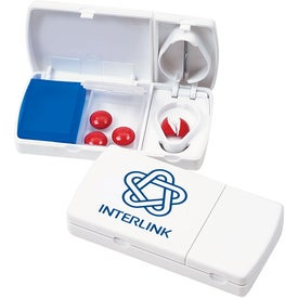 Travel Pill Box/Cutter for Promotion