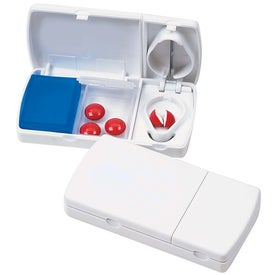 Travel Pill Box/Cutter for Marketing
