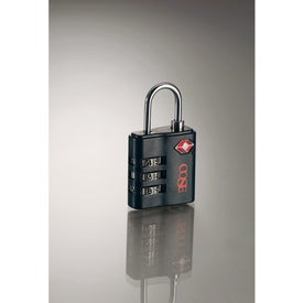 Travel Sentry Luggage Lock for Marketing